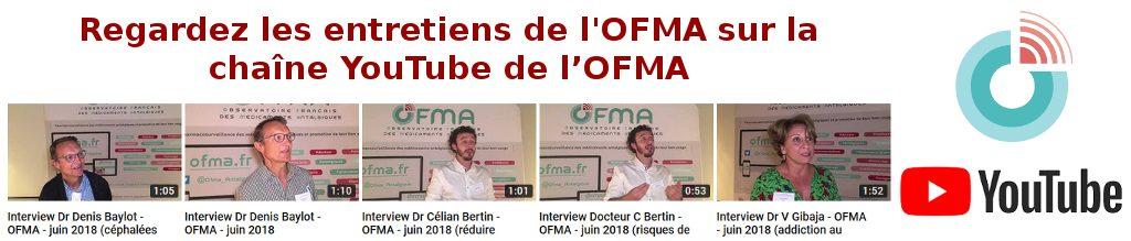 Regardez les entretiens de l'OFMA sur la chaîne YouTube de l'OFMA
